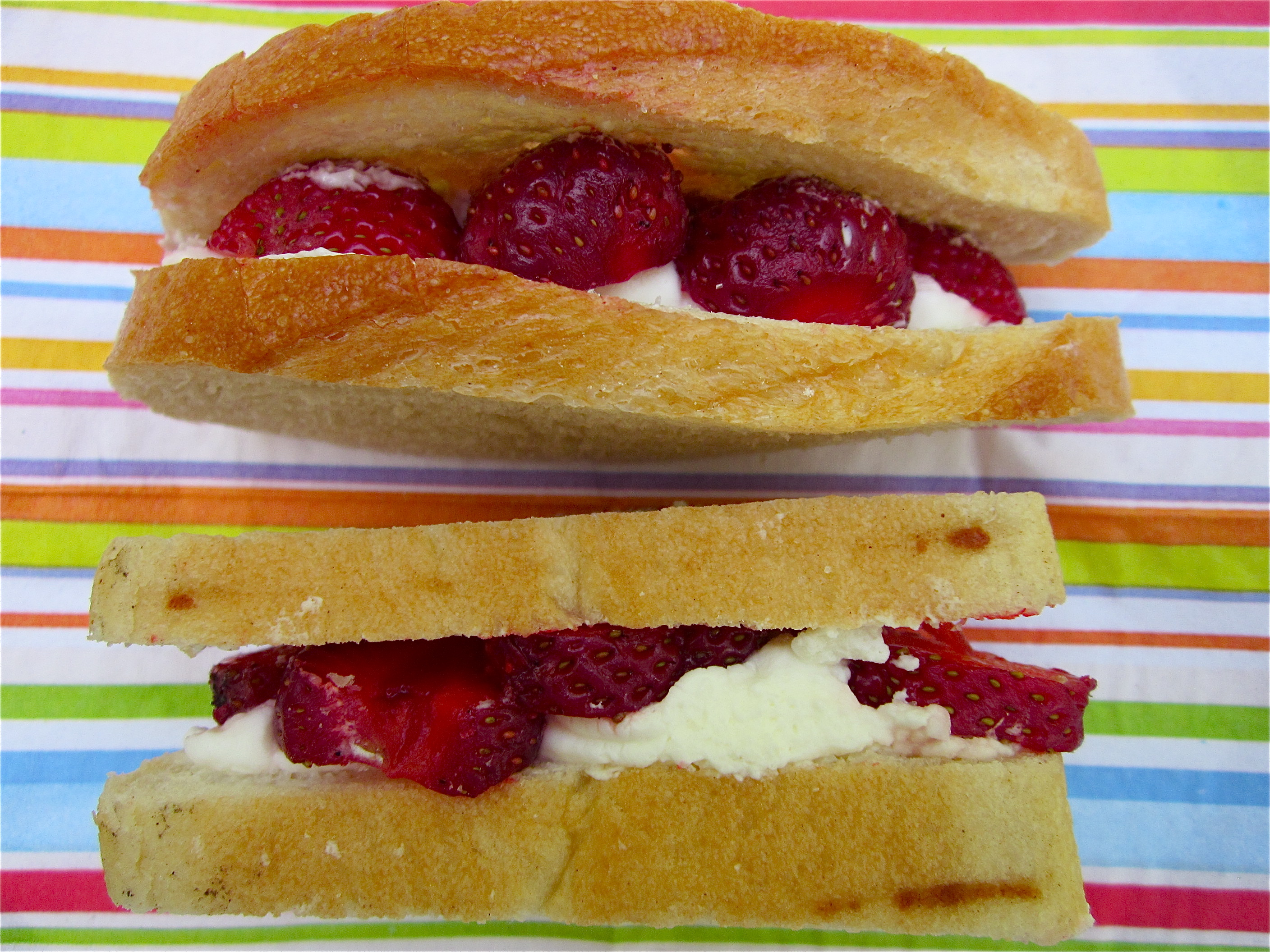 Strawberry Sandwich - 1