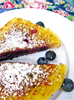 Blueberry Pain Perdu