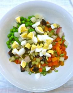 Russian Salad - Waste Not Recipe - Falmouth Farmers Market 2016