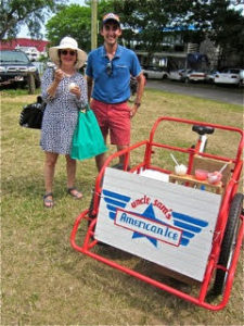 Uncle Sam's American Ice at Falmouth Farmers Market July 2016