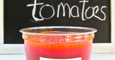 2lbs tomato sauce from Falmouth Farmers Market