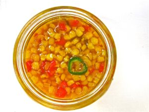 Corn relish from the Falmouth Farmers' Market